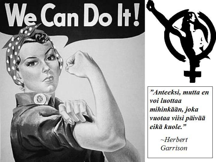 Hyvää naistenpäivää!