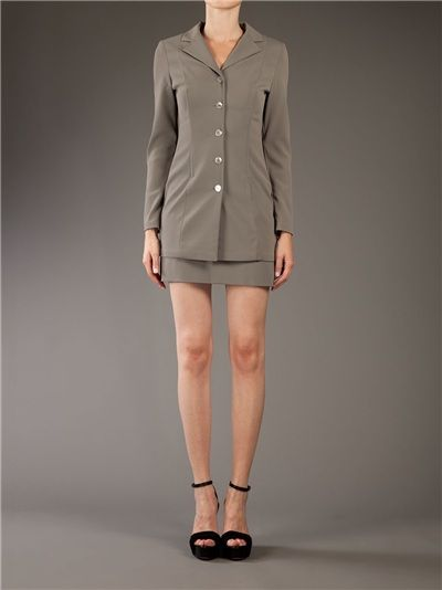 €124 Dolce & Gabbana Archive Skirt Suit... *Insert jokes about a short skirt/long jacket here.*