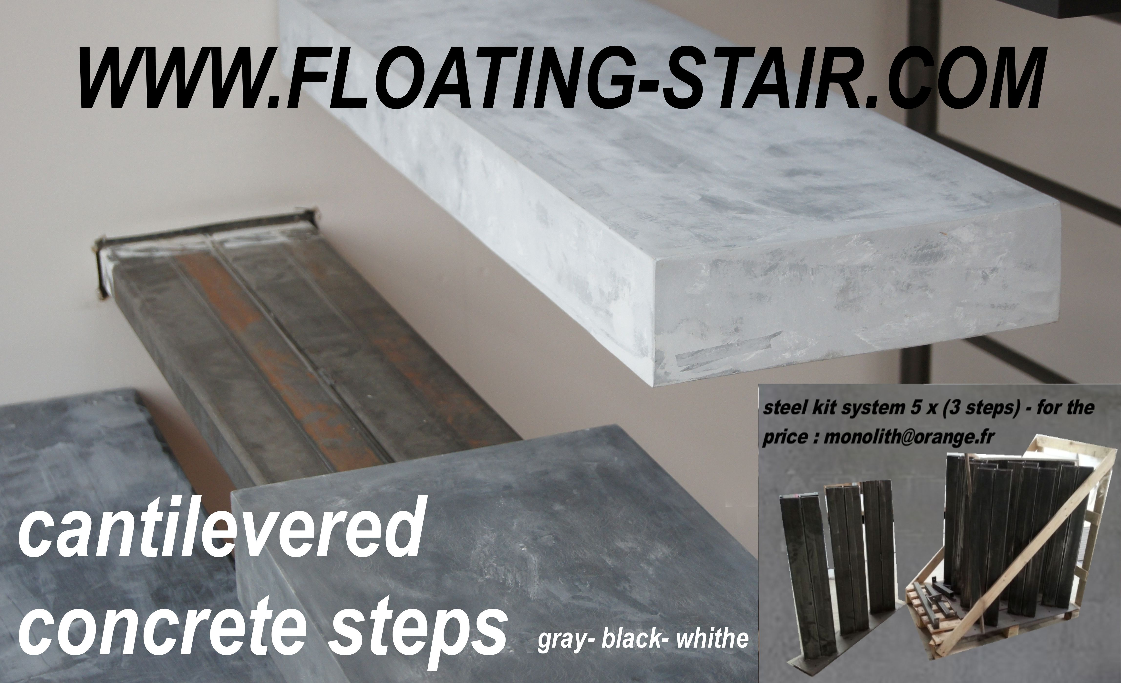 Floating Stair Kit MONOLITH