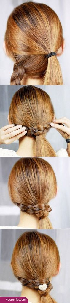 Cute Quick Hairstyles Magnificent Cute Quick Hairstyles  Google Search  Random  Pinterest  Quick
