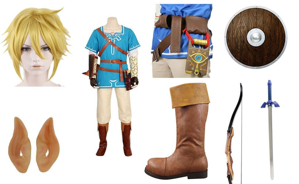 Link in Zelda: Breath of the Wild Costume | Cosplay - Link ...