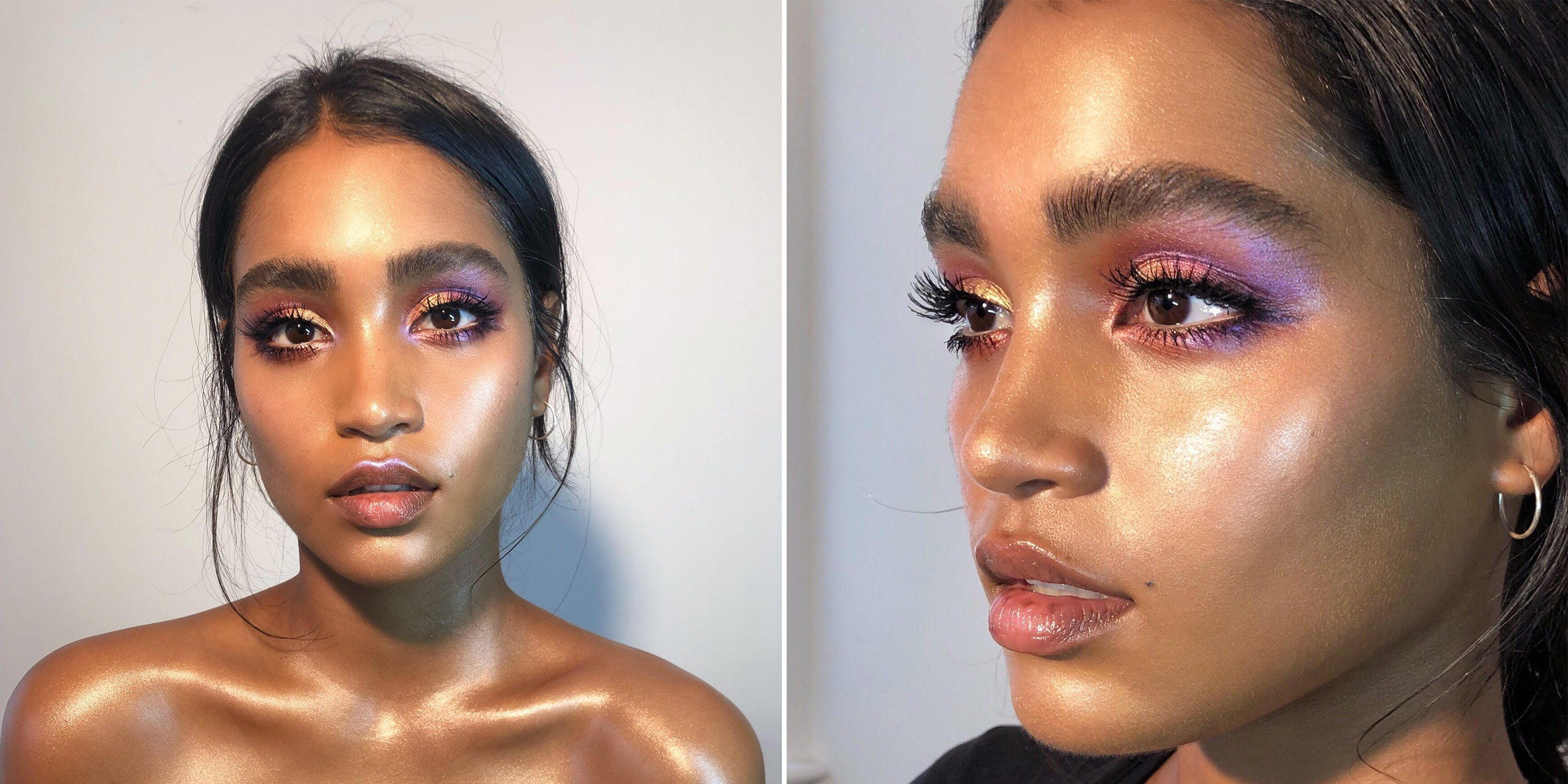 This Makeup Artist Came Up With A Genius Glass Skin Highlighter Hack Ethereal Makeup Glass Skin Skin Highlighter