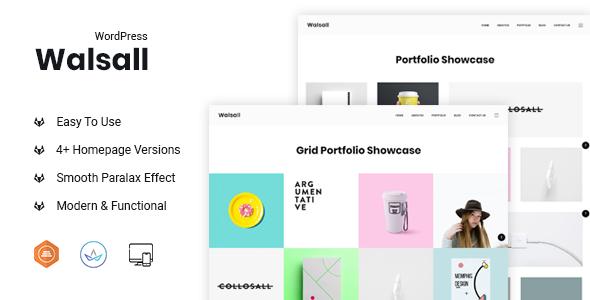 Walsall Minimal Agency Wordpress Theme Stylelib In 2020 Wordpress Theme Digital Agencies Wordpress Theme Portfolio