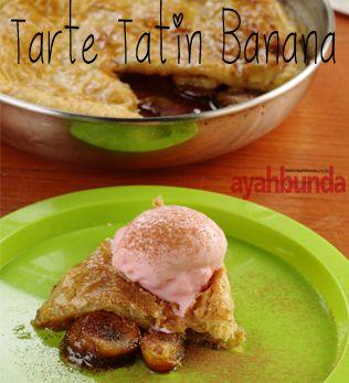 Tarte Tatin Banana Light Snacks Snacks Tarte Tatin