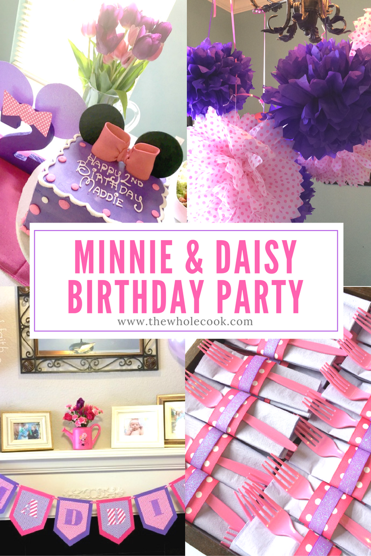Minnie Daisy Birthday Party Thinking About Having A And Themed For Your Little One Check Out These Ideas Theyre All Pink