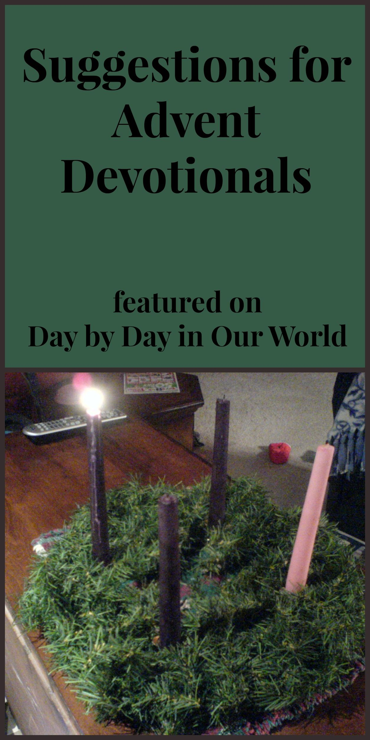 Advent Devotionals to Use in Your Home Advent, Advent