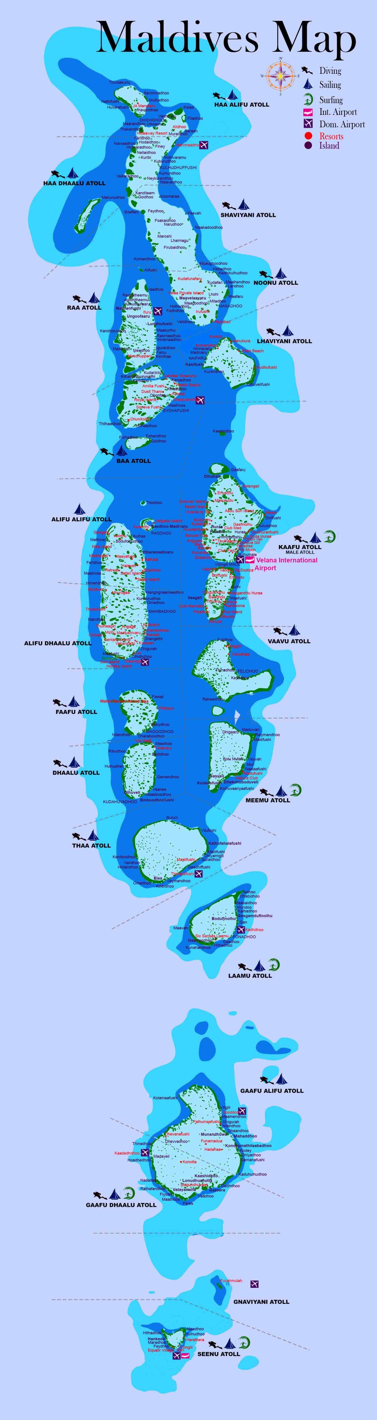 Where is Maldives Island located | Best in Maldives ...