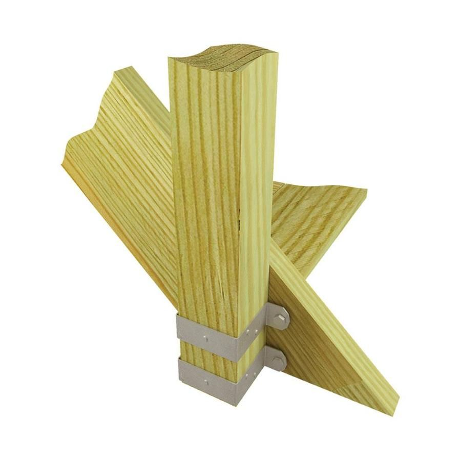 Usp 2 In X 4 In 14 Gauge Triple Zinc Deck Tie