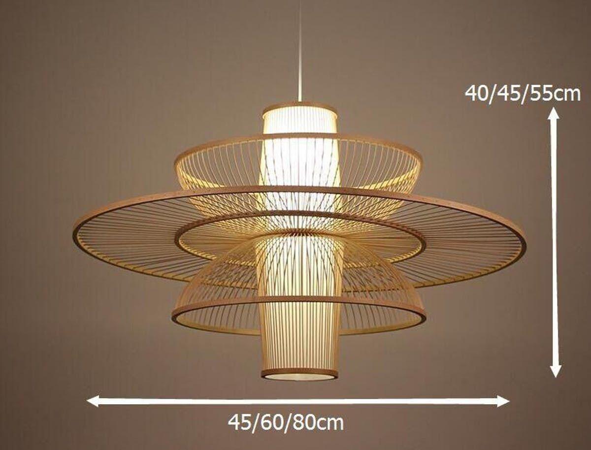 Pastoral Rattan Decorative Pendant Lights Bamboo Pendant Light Decorative Pendant Lighting Bamboo Lamp