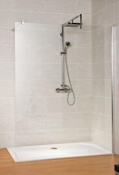 Schulte duschwand schulte masterclass free 120 express plus duschkabinen walk in pinterest - Duschwand fugenlos ...