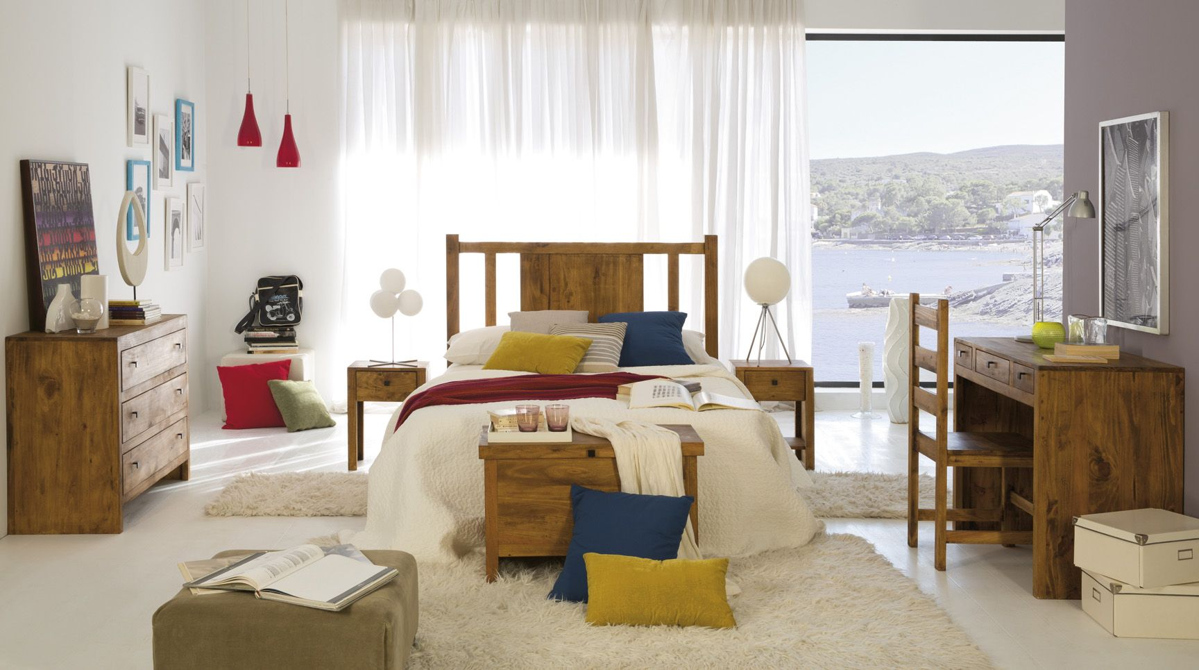 Dormitorio rustico Aldaola | MUEBLES RUSTICOS | Pinterest | Muebles ...