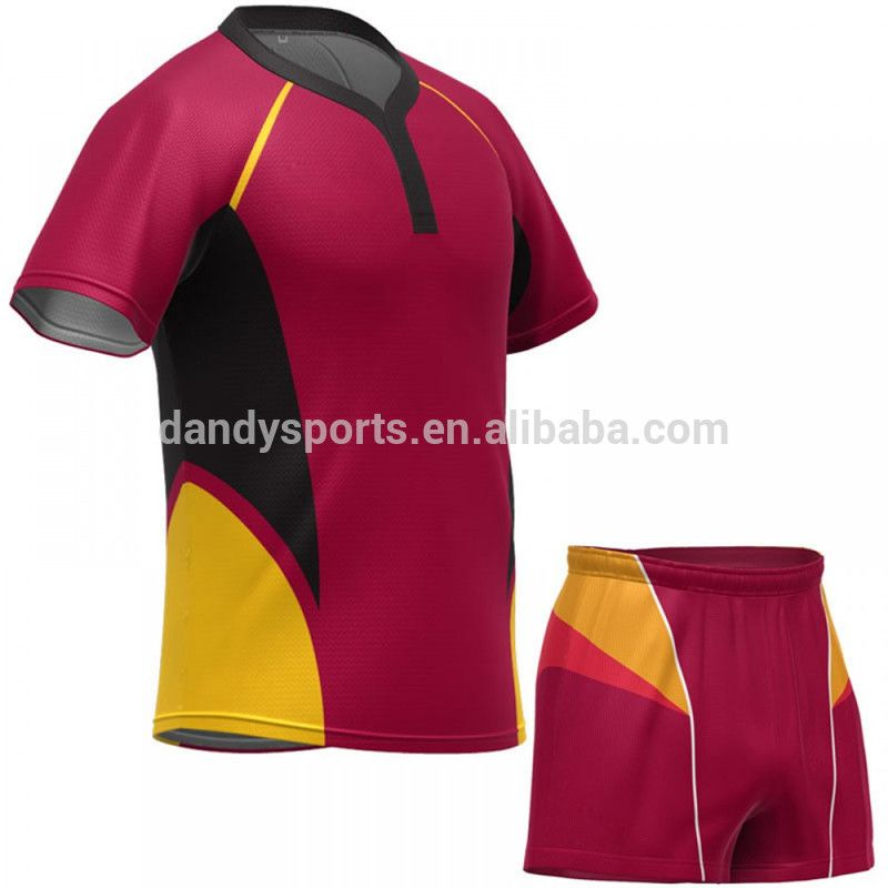 Rugby Wear Team Set Custom Rugby Jersey Sublimated Rugby Clothing No