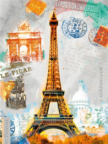 Paris Vintage Art Print Robin Jules Art Com Vintage Art Prints Posters Art Prints Vintage Posters