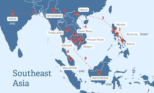 travelling South-East Asia