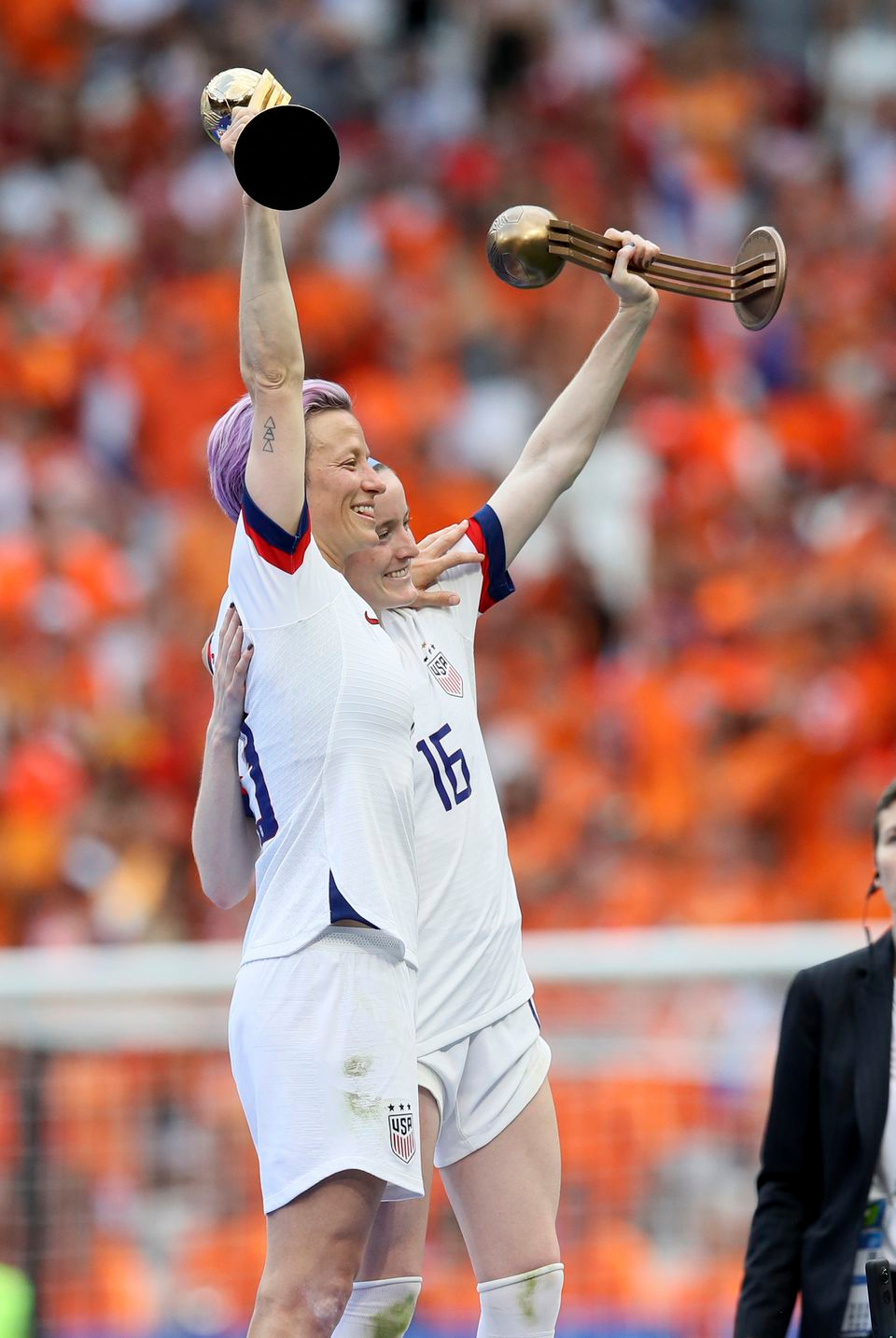 Women S World Cup Final 2019 Recap Usa S Megan Rapinoe Rose Lavelle Lead Uswnt Over Netherlands In 2020 Uswnt Megan Rapinoe World Cup Jerseys