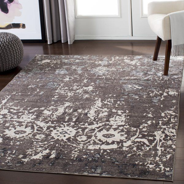 Best Place To Buy Stephan Distressed Light Brown Ivory Area Rug By