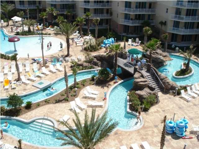 Waterscape Lazy River Resort Fort Walton Beach Florida On Okaloosa Island Condo Als And Vacation Home