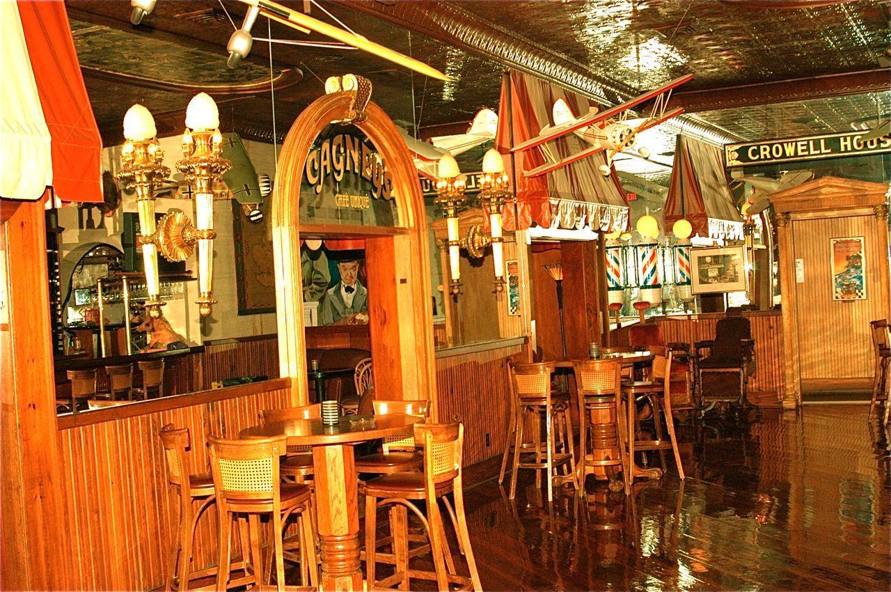 Main Bar With Doorways Ocean Forest Hotel