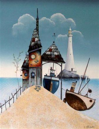 British Artist Gary WALTON - Spring Time II