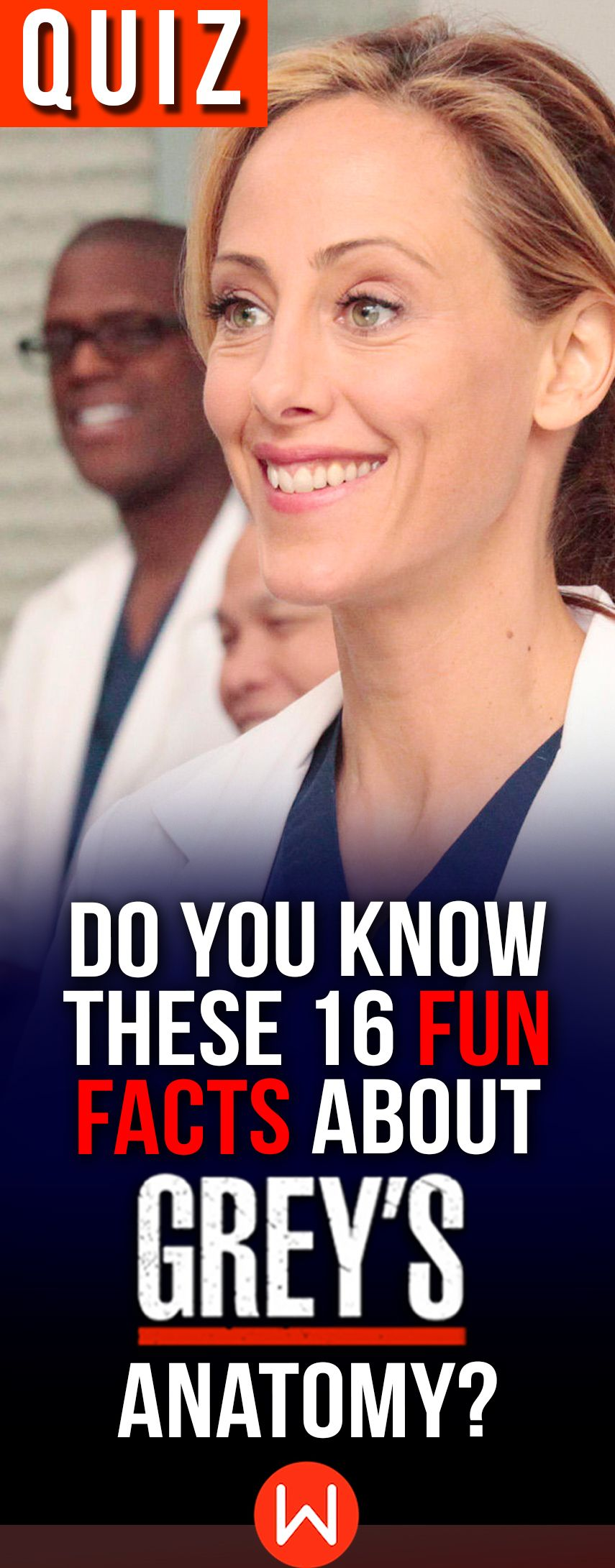 Quiz: Do You Know These 16 Fun Facts About Grey\'s Anatomy? grys ...