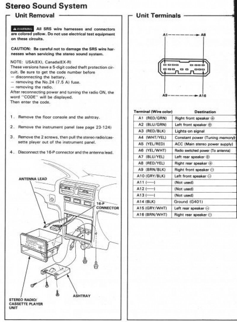 Honda Accord Wiring Harness Diagram Image Honda Accord Acura Integra Honda