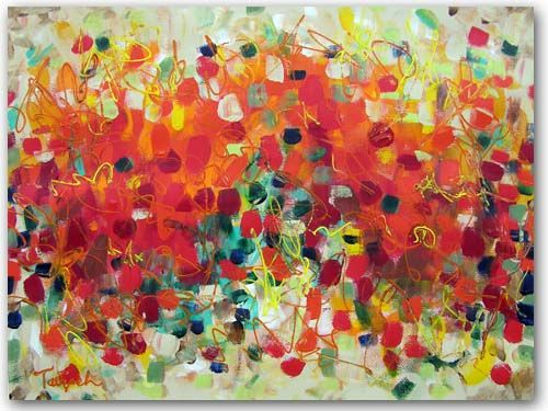Contemporary Art Thirty-Three, original painting by Lynne Taetzsch at ARTBYLT.COM