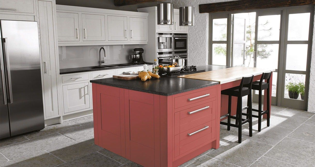 Http Www Bettaliving Co Uk Kitchens Fitted Kitchens Cranford Cranberry Classic Kitchen Design Kitchen Layout Contemporary Kitchen
