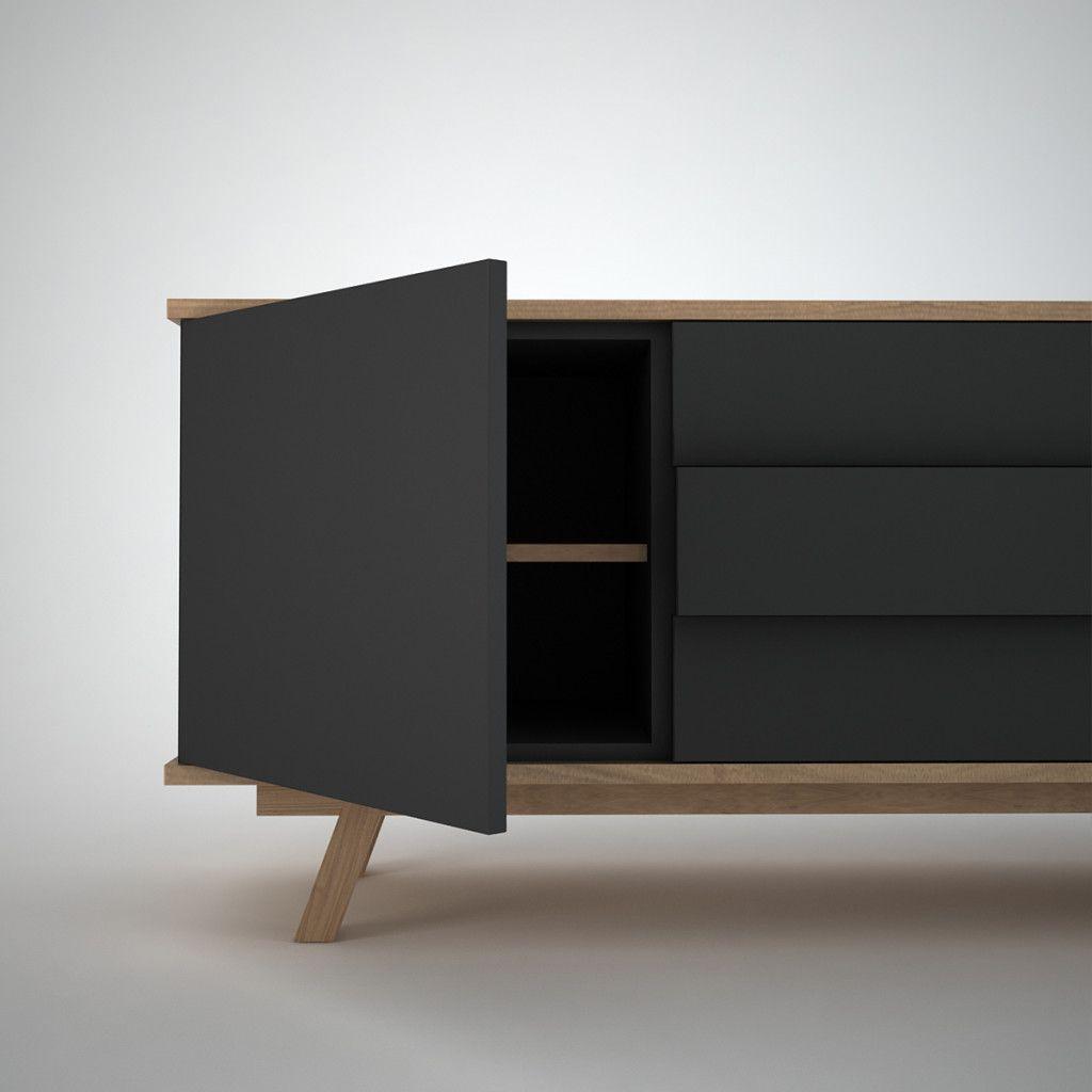 Contemporary Sideboard In Contemporary Sideboard Drawer Design