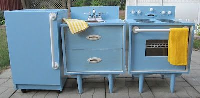 Mon projet de l'été: un coin cuisine (play kitchen) pour ma classe !