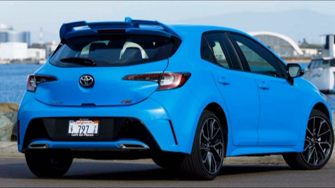 Watch Now 2019 Toyota Corolla Interior And Tech Sooner Or Later I Consider 2019 Toyota Corolla Turbo Is Some Di Toyota Corolla Toyota Toyota Corolla Hatchback