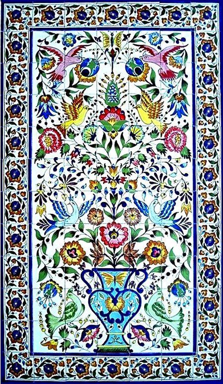 Large Decorative Ceramic Tiles Decorative Ceramic Tiles Large Mosaic Panel Handtunisiandecor