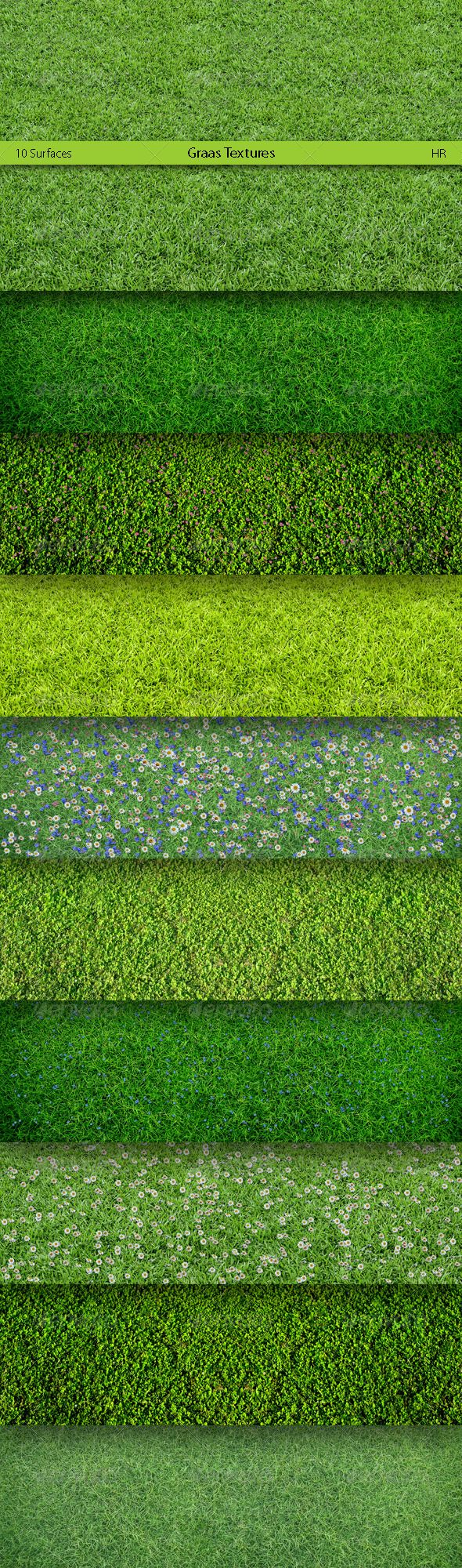 Grass Surfaces Texture Backgrounds - Nature Backgrounds