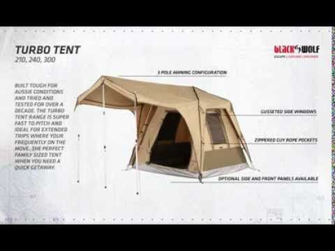 Blackwolf Turbo Plus 300 Tent - Tentworld & Blackwolf Turbo Plus 300 Tent - Tentworld | Camping Hiking ...