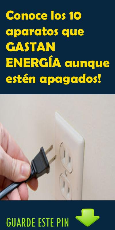 Conoce los 10 aparatos que GASTAN ENERGÍA aunque estén apagados!