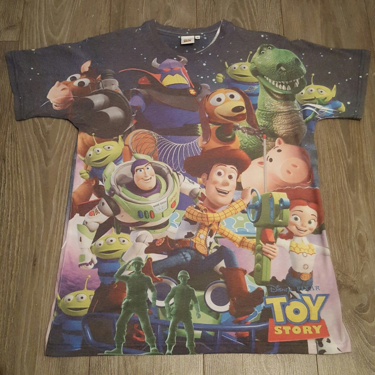 Brand New, Never Been Wore Mens Double Sided Toy Story T