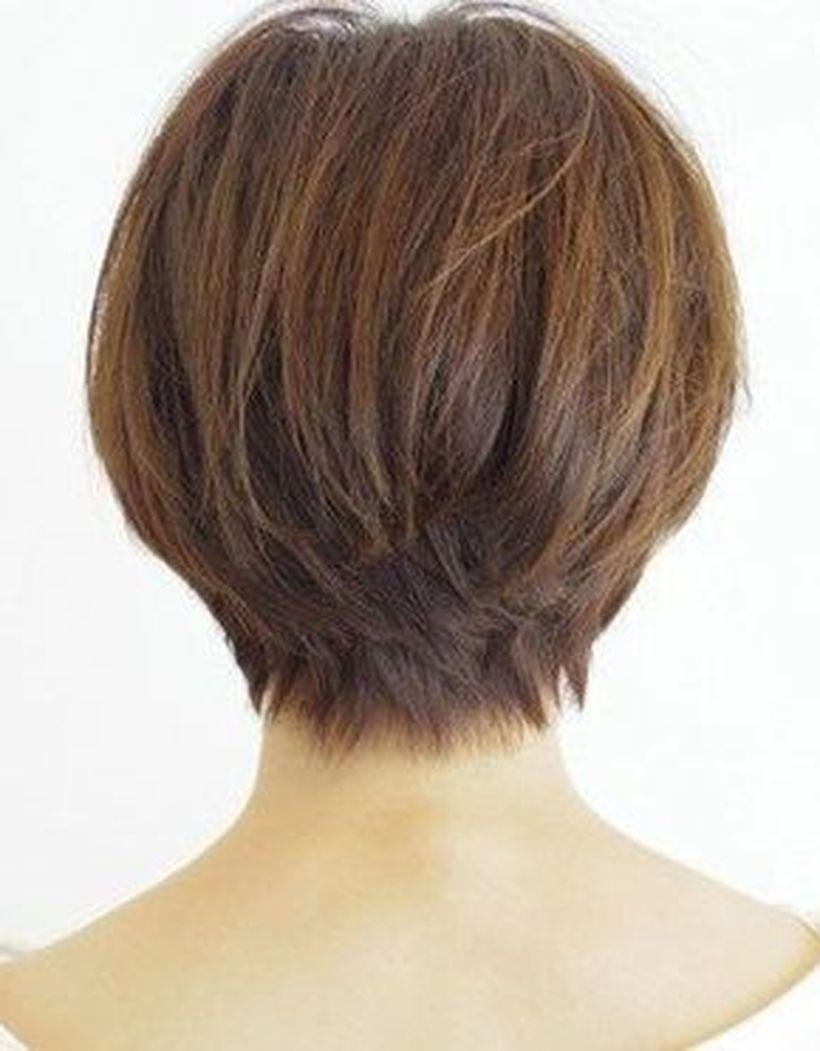 Stylist back view short pixie haircut hairstyle ideas hair cuts