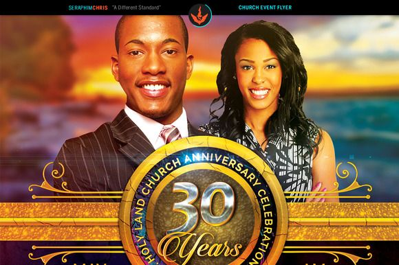 Royal Church Anniversary Flyer By Seraphimchris On
