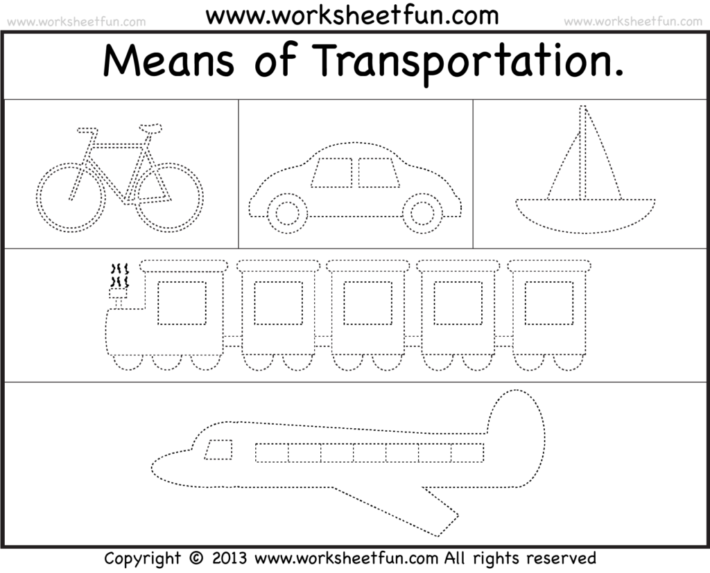 Essay on means of transport for kindergarten