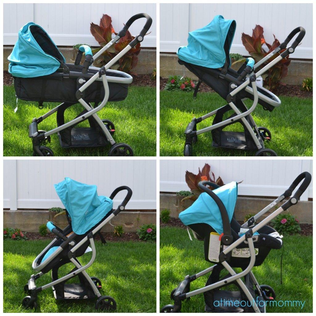 Urbini Omni Multi Position Stroller and Car Seat