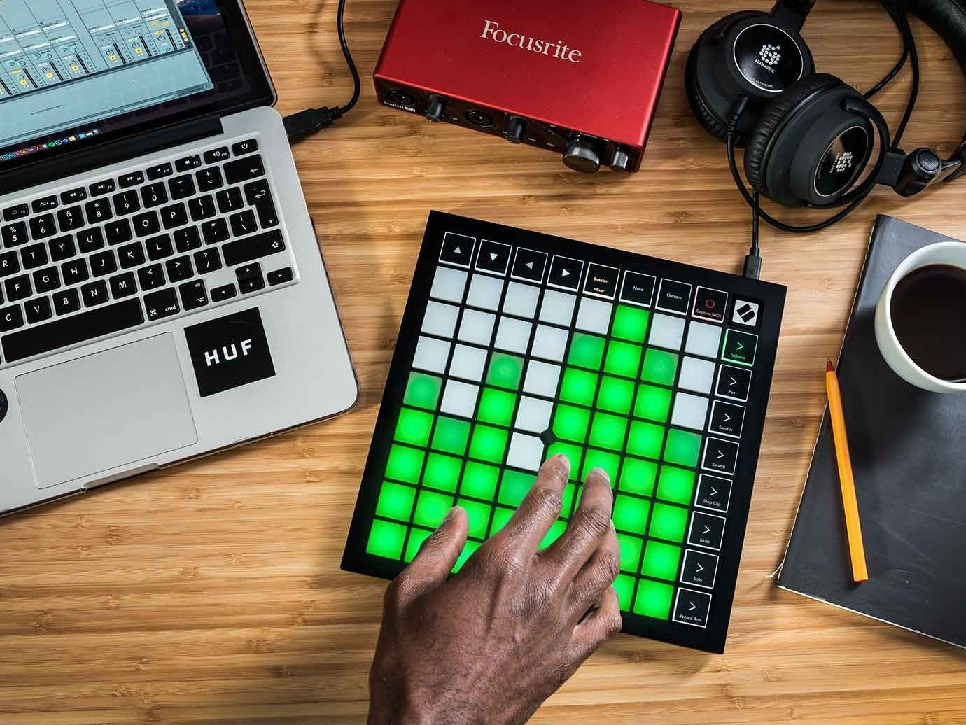 Novation Launchpad X Grid Controller for Ableton Live 353