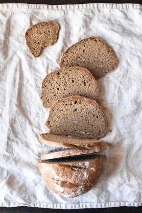 Einfaches glutenfreies Brot ohne Hefe oder Sauerteig (vegan) #glutenfreierezepte
