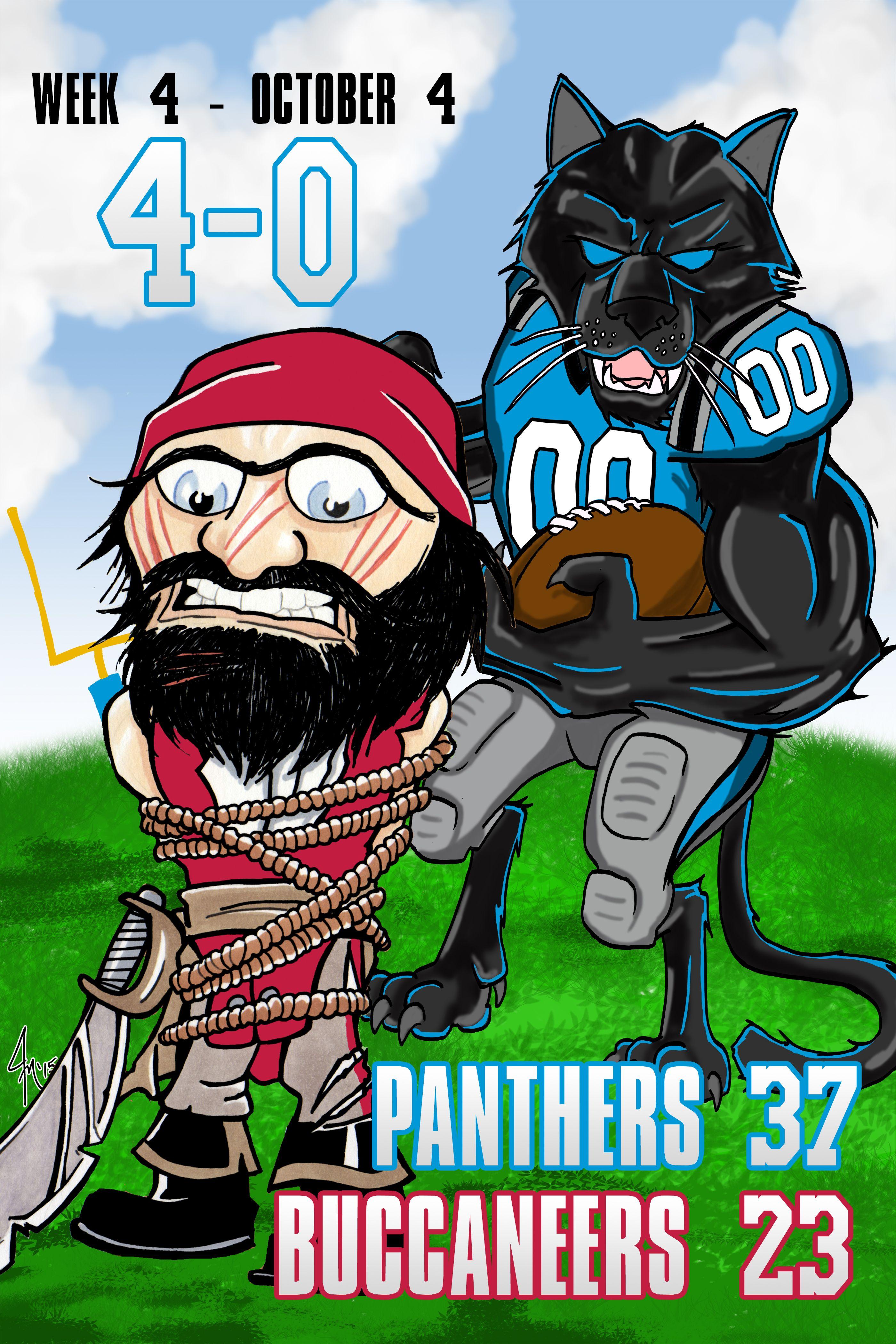 Carolina Panther Defeat Tampa Bay Buccaneers Carolina Panthers Panther Nation Panthers