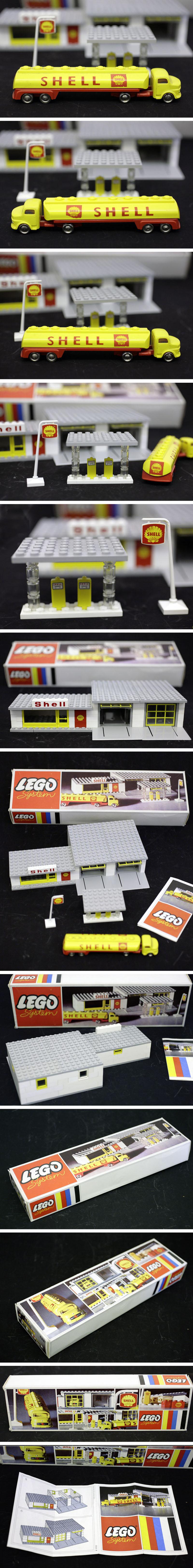 lego vintage set 325 shell gas station for sale on ebay de. Black Bedroom Furniture Sets. Home Design Ideas