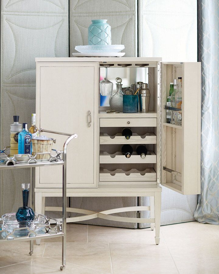 Andover Mills Perreira Bar With Wine Storage Wine Storage Wine Bar Cabinet Storage
