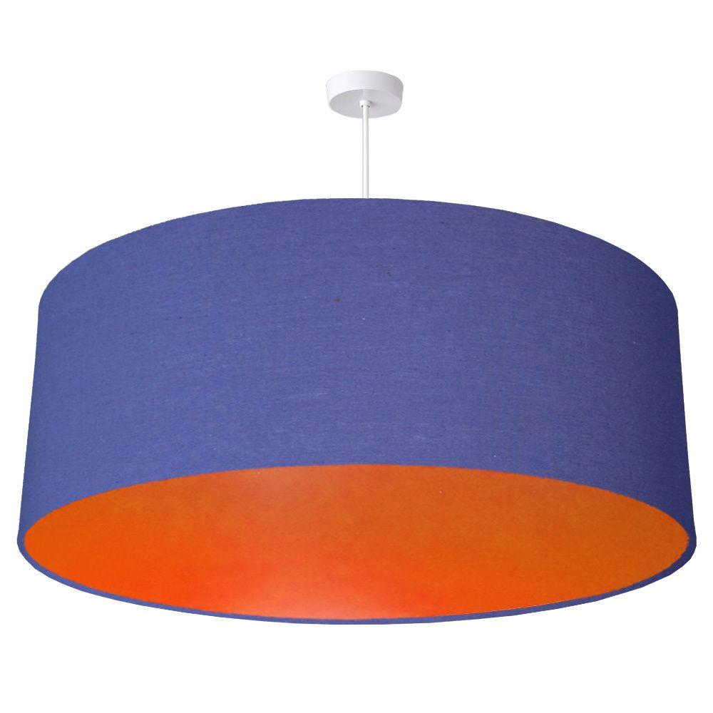 70cm extra large oversize blue fabric drum lampshade with choice quirk ltd 70cm extra large oversize blue fabric drum lampshade with choice of coloured lining aloadofball Choice Image