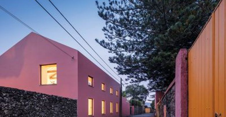 Portuguese Pink House Is Available To Rent For Your Next Getaway