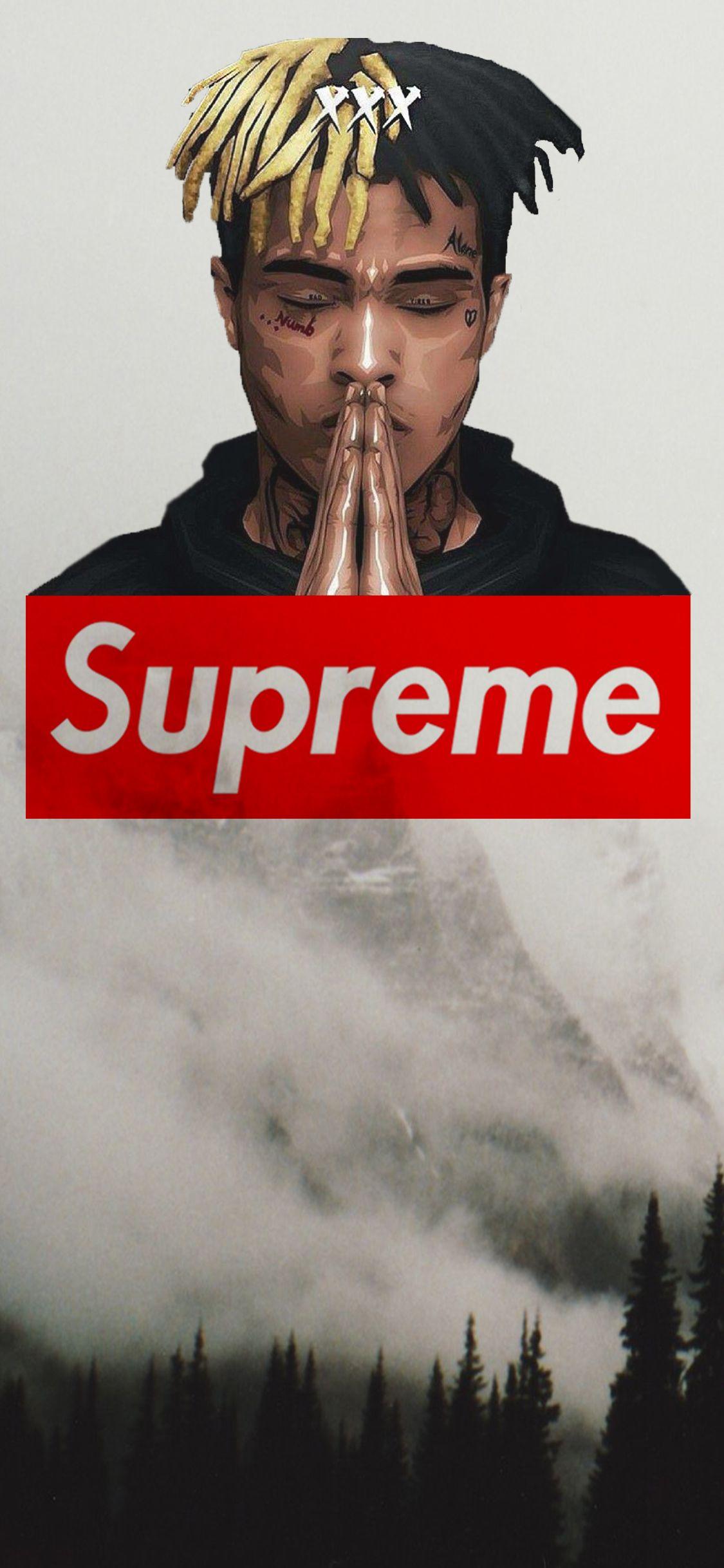 #Supreme #XXXTentacion #Cool | Wallpaper | Supreme wallpaper, Iphone wallpaper e Dope wallpapers
