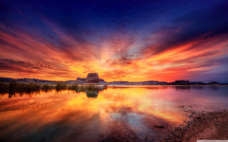 Best Beach Sunset Desktop WallpapersFreeCreatives