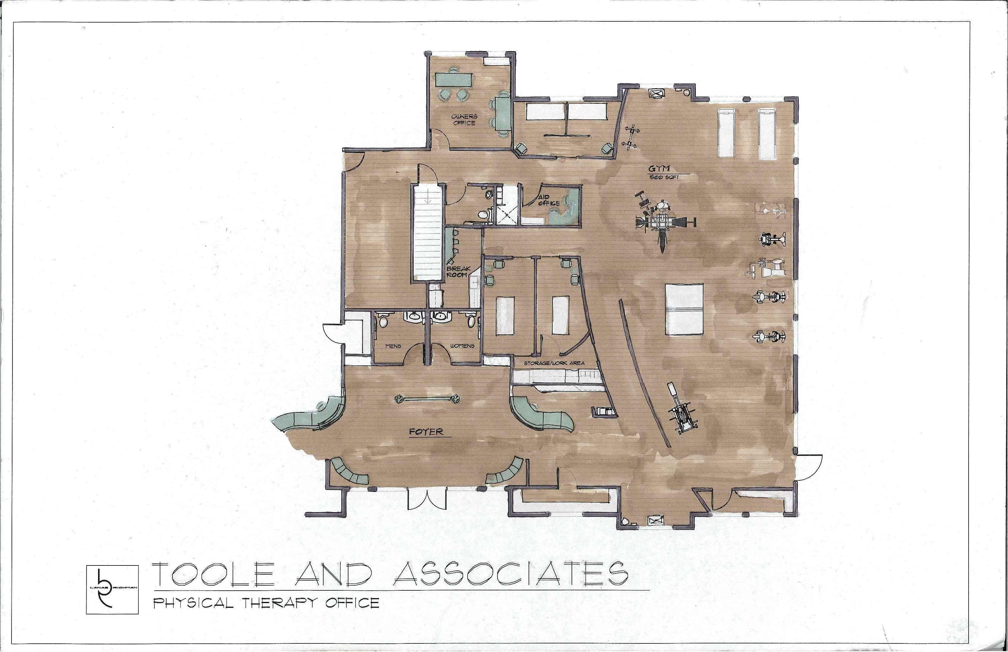 Floor Plans For Physical Therapy Clinic: Physical Therapy Floor Plan