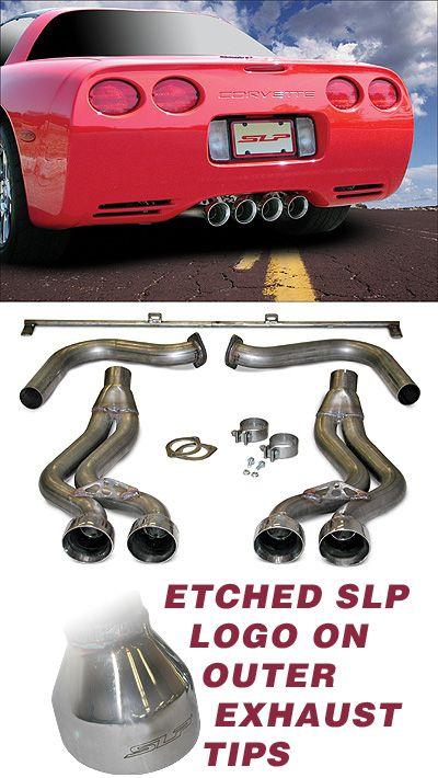 C5 Corvette Slp Loudmouth Exhaust System Corvette Exhausted System
